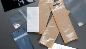 Трехшовные пакеты с застежкой